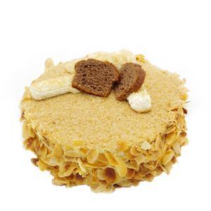 杏仁青稞蛋糕