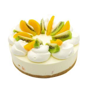 热带水果芝士蛋糕